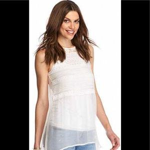 Willow and Clay - Sheer Lace Tank